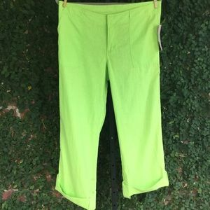 NWT Lilly Pulitzer Linen & Cotton Blend Pants